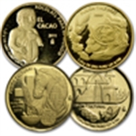 World's smallest gold coins (Cultural Fusion)