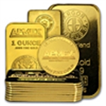 Gold Bars & Gold Rounds(All Sizes & Manufacturers)