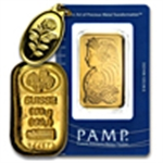 Pamp Suisse (Gold Bars & Pendants)