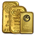 Gram Gold Bars Brand Name (1 Gram - 250 Grams)