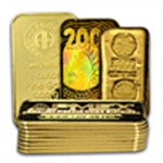 1 oz Gold Bars (Only)