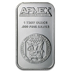 Silver Bars (All Sizes & Manufacturers)