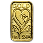 Gold Gift Items (Less than 1 oz) Bars & Rounds