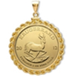 Gold Krugerrand Pendants