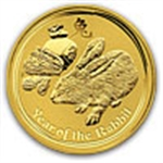 Year of the Rabbit Gold Coins