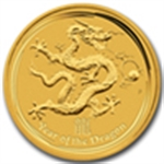 Year of the Dragon Gold Coins
