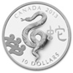 Year of the Snake (Silver Coins)