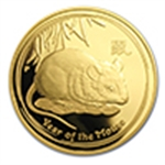 Year of the Mouse/Rat (Gold Coins)