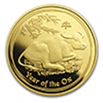 Year of the Ox (Gold Coins)