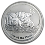 Year of the Mouse/Rat (Silver Coins)