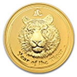 Year of the Tiger (Gold Coins)
