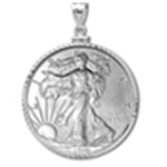 Silver Eagle Pendants