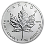 IRA Approved Silver Maple Leafs