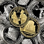 Bulk Modern U.S. Commemoratives (Gold & Silver)