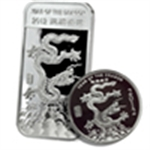 Year of the Dragon (Silver Bars & Rounds)