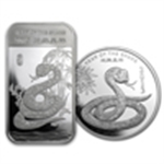 Year of the Snake (Silver Bars & Rounds)