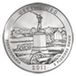2011 America the Beautiful (5 oz Silver Bullion)