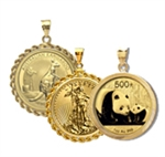 Gold Coin Pendants