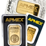 APMEX Gold Bars (Tamper-Evident Packaging)
