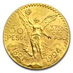 Vintage Mexican Gold Pesos (1959 & Prior)