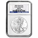 NGC Certified (Silver Eagles) 2014 & Prior