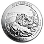 2014 America The Beautiful (5 oz Silver Bullion)