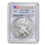 2014 Certified (Silver American Eagles)
