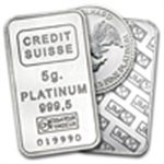 Platinum Bars & Rounds (1 Gram - 50 Oz)