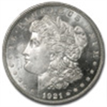 Morgan Dollars (1921 - The Final Year)