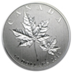 Commemorative (Silver Maple Leafs)