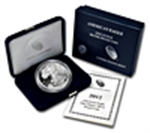 Proof Silver Eagles (Box & Coa) 2013 & Prior