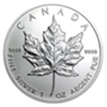 Canadian Silver (Maple Leafs) All Canadian Silver
