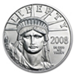 Platinum Eagles - 1/10 oz (2008 & Prior)