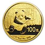 Gold Pandas - 1/4 oz (2014 & Prior)