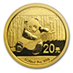 Gold Pandas - 1/20 oz (2014 & Prior)