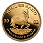 South African Proof Gold Krugerrands