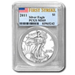 PCGS Certified (Silver Eagles) 2013 & Prior