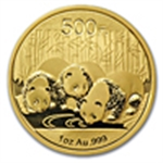 Chinese Gold Pandas (2014 & Prior)