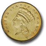 (Type-3) $1.00 Indian - Large Head (1856-1889)