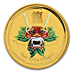 Perth Mint 2012 Year of the Dragon Coins