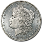 1878 Morgan Dollar - 7 Tailfeather Rev of 78 BU