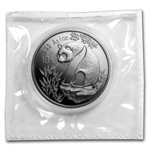 1993 1 oz Silver Chinese Panda - (Sealed) - Large Date