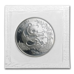 1994 1 oz Silver Chinese Panda - (Sealed) - Large Date
