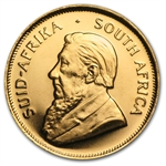 1/10 oz Gold South African Krugerrand - Random Year