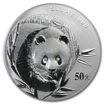 2003 - (5 oz) Silver Panda Proof (W/Box & Coa)