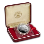 1984 Silver Chinese Panda 10 Yuan (Proof) (W/Box & Coa)