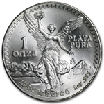 1984 1 oz Silver Mexican Libertad (Brilliant Uncirculated)