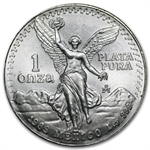 1989 1 oz Silver Mexican Libertad (Brilliant Uncirculated)