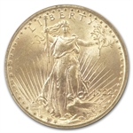 1922 $20 St. Gaudens Gold Double Eagle - MS-63 NGC