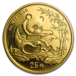 1994 (1/4 oz) Gold Chinese Pandas - Small Date (Sealed)